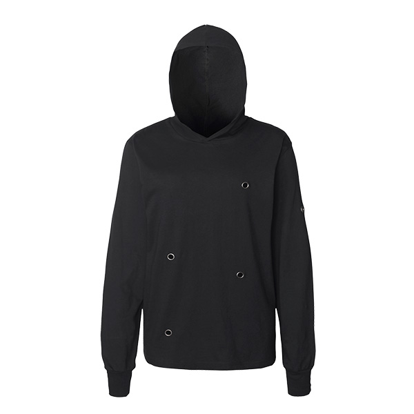 Amos Long Sleeve Hooded Shirt