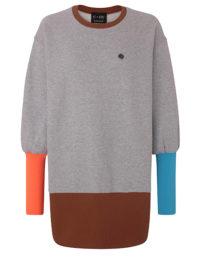 e=ny-Signature-Crew-Neck-Pullover-Sweatshirt-Dress-gray