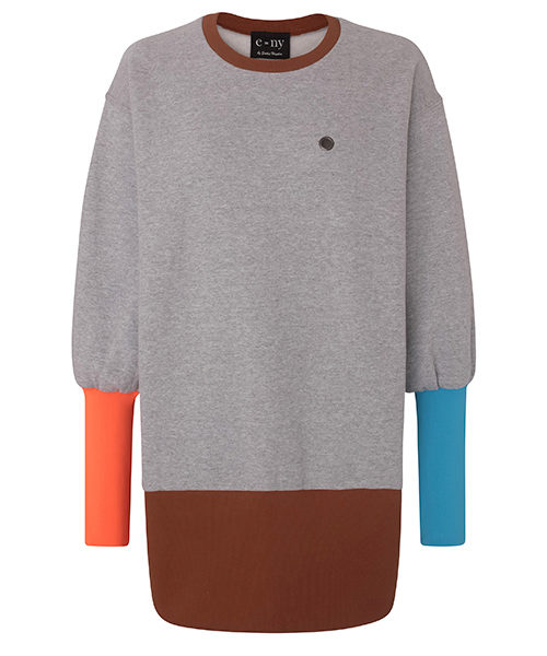 e=ny-Signature-Crew-Neck-Pullover-Sweatshirt-Dress-gray