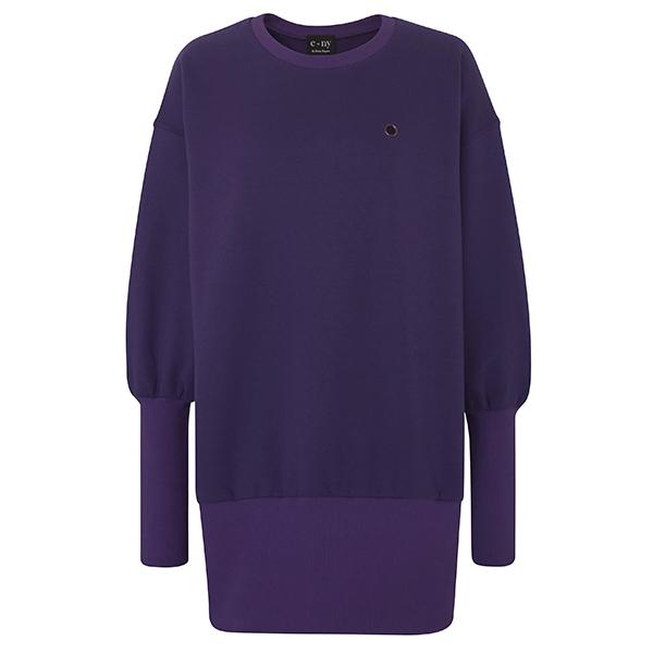 e=ny-Signature-Crew-Neck-Pullover-Sweatshirt-Dress