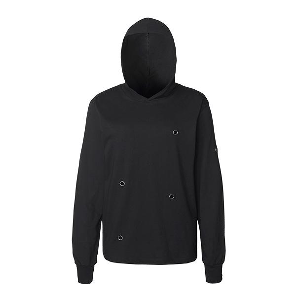 Amos Long Sleeve Hooded Shirt